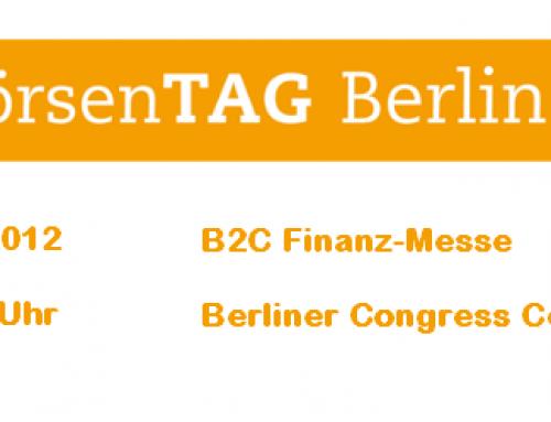 Börsentag Berlin die Anlegermesse