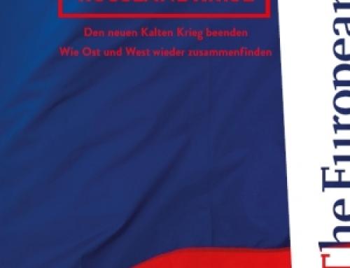 """Jetzt im Handel: """"Russlandkrise"""" aus der THE EUROPEAN EDITION"""