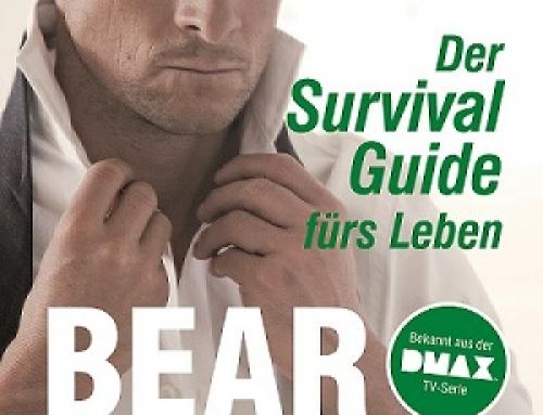 """""""Der Survival Guide fürs Leben"""" von Bear Grylls ab 04. November"""
