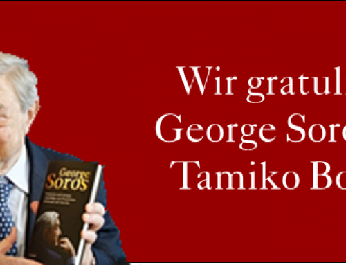 George Soros heiratet seine langjährige Freundin Tamiko Bolton