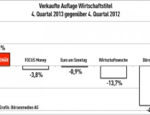 IVW IV/2013: DER AKTIONÄR wächst viertes Quartal in Folge