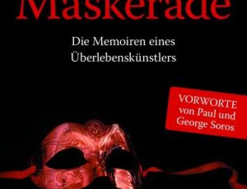 """Ab Montag, 29. Juli im Handel: """"Maskerade"""" von Tivadar Soros"""