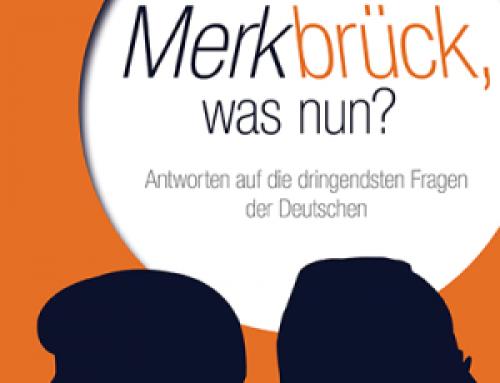 """Ab Montag im Handel: """"Merkbrück, was nun?"""""""