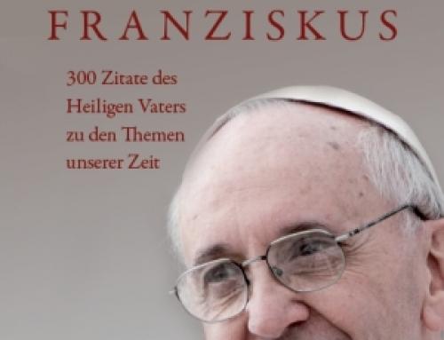 """""""So denkt Papst Franziskus"""" jetzt im Handel"""