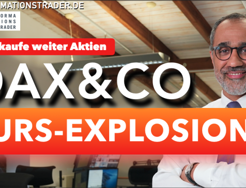 Dax-Kursexplosion: Darum kaufe ich weiter Aktien